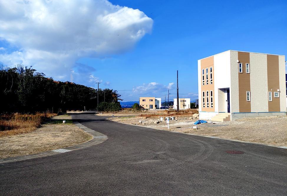 リゾート開発の様子