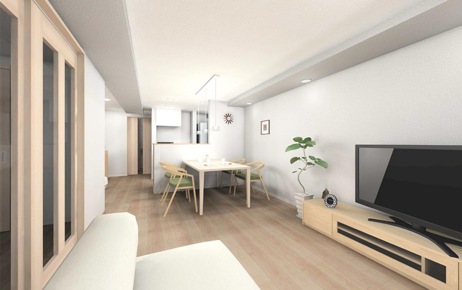 リノベーション住宅の内装